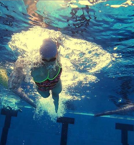 Lisa Nordén simmar frisim