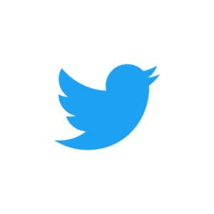 Influencer samarbeten Twitter logo