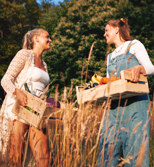 Evelina och Emmy Hammelfelt som driver Foodgeekz