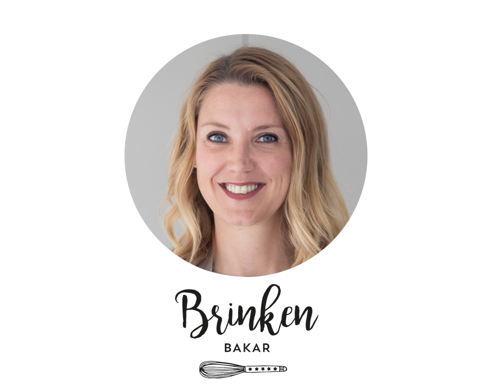 Profilbild Emma Brink Rask Brinken Bakar med logga