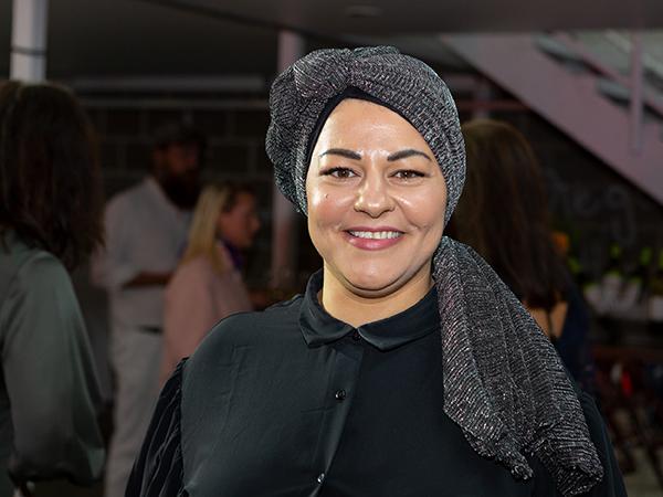 Zeina Mourtada, som driver Zeinas Kitchen, på Stellagalan i Stockholm som arrangerades under måndagen den 21 september